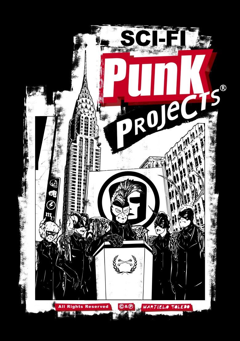 Imagem Capa Sci-Fi Punk Projects